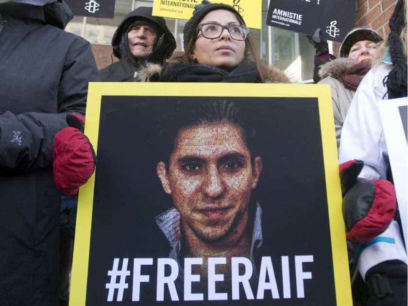 Quebec calls on Trudeau to help release Raif Badawi
