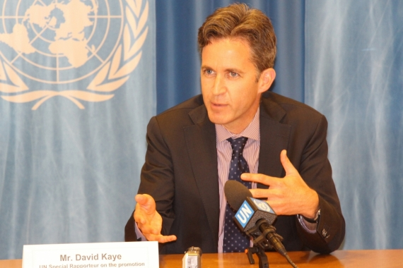 Saudis under fire from UN over free speech 'repression' by Robert Evans