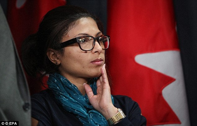 'The crowd were shouting Allahu Akbar. A man was striking Raif with all his might': Wife of Saudi blogger sentenced to 1,000 lashes reveal horror as she saw him punished