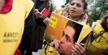 Wife of Raif Badawi, Imprisoned Saudi Blogger, Feels Pain From Afar